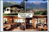 Bad Reichenhall Café Restaurant Niederalm Postkarte