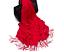 195*65cm women Fashion Fine Silk Cashmere Style Shawl Wrap Scarf Tasseled Ends