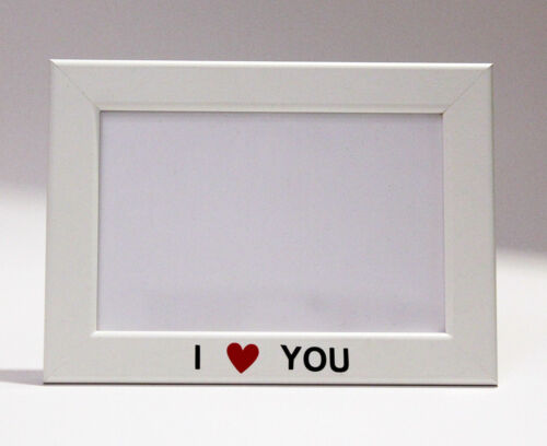 Picture Frame I Love You Valentine/'s Day for a picture 10x15 CM in 2 formats