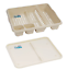 Dish-Drainer-with-Drip-Tray-Plate-Rack-High-Grade-Plastic-Cutlery-Holder-Kitchen thumbnail 13
