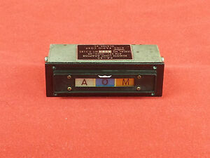 King KA-40 Marker Beacon Indicator (Unit Only) P/N 071-0003-00