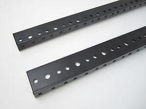 5 SPACE 5U Rack Rail (8.75 inches) (PAIR) for RACK-MOUNT EQUIPMENT by Penn Elcom