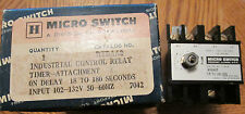 NEW NOS Micro Switch RYRAA2 On Delay Timer Industrial Control Relay 102-132V