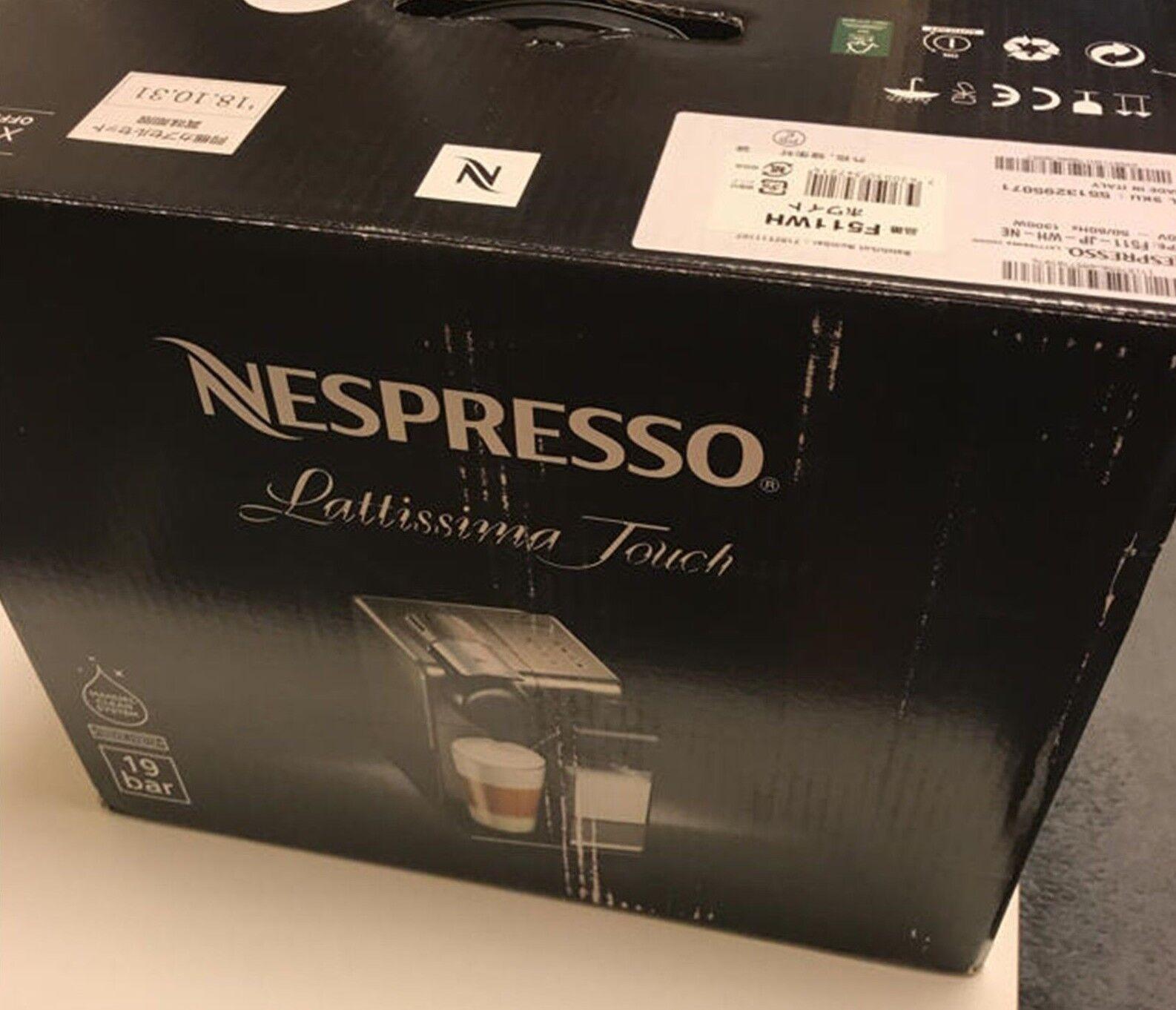 Nouveau Blanc F511WH Nespresso Cafetière Ratishima Touch F S du Japon
