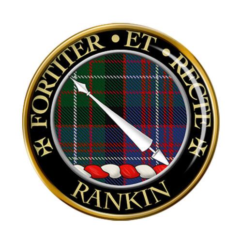Rankin Scottish Clan Pin Badge