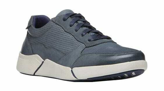 Propet Men's Landon Sneaker Navy Nubuck Sneakers
