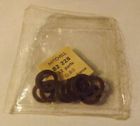12 Old Stock Mitchell 206 208 218 Fishing Reel Shim Washers 82228 .80