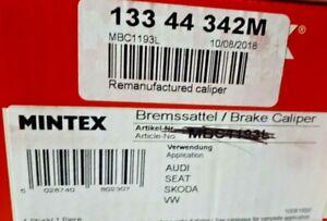 Brake Caliper - Audi A3 TT - VW Golf EOS - Rear