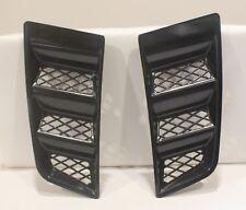 Bonnet Vent Hood Vent CIVIC RR Style ABS Universal Air Scoop Duct Vent Unpainted