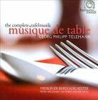 Georg Philipp Telemann: Musique de Table (CD, Oct-2010, 4 Discs, Harmonia Mundi (Distributor))