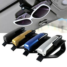 2 x Sun Visor Sunglasses Eye Glasses Card Pen Holder Clip Car Vehicle Accessory