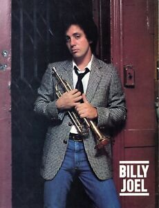BILLY JOEL 1978 52nd STREET TOUR CONCERT PROGRAM BOOK BOOKLET-RARE-NM TO MINT