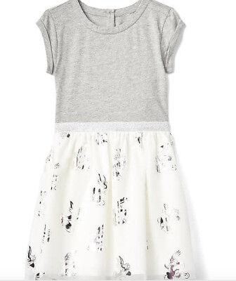 BABY GAP GIRL Intarsia bunny sweater dress NWT 2T 4T NNN