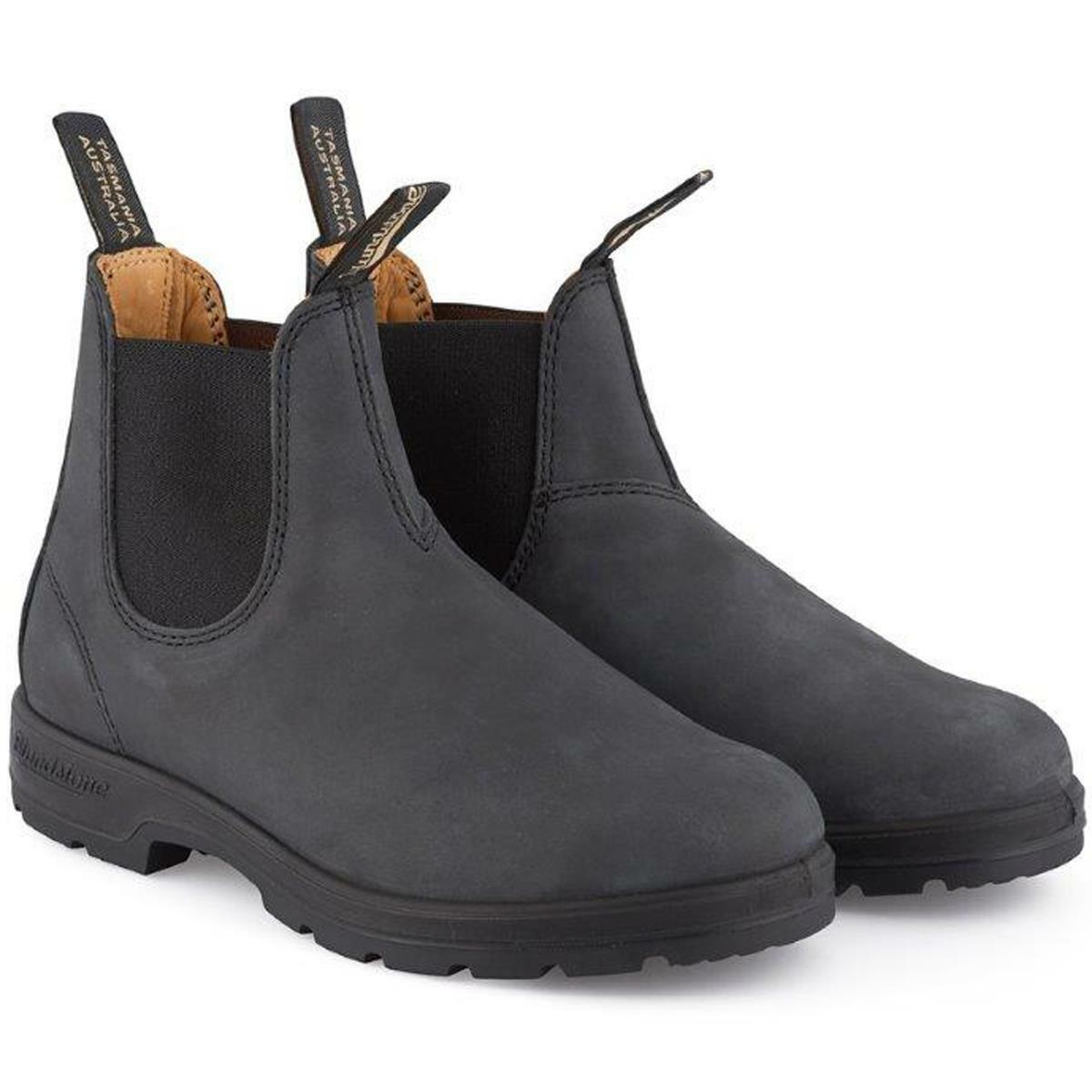 Blundstone Mens Ladies Classics 587 Chelsea Boot Black Shoes Footwear