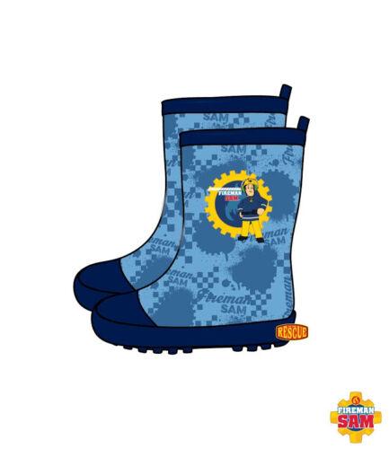 Waterproof Rainboots Rubber Boots Boys/' Shoes Feuerwehrmann Sam 26-32 #G1