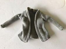 Pregnant Barbie Midge Mom Doll Happy Family  Grandma's Grey Sweater Top Clothes