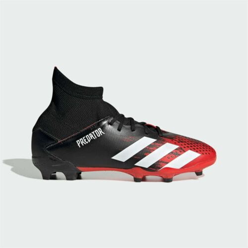 Adidas Enfants Garçons Predator 20.3 Junior FG Chaussures De Football Ferme Sol Lacets
