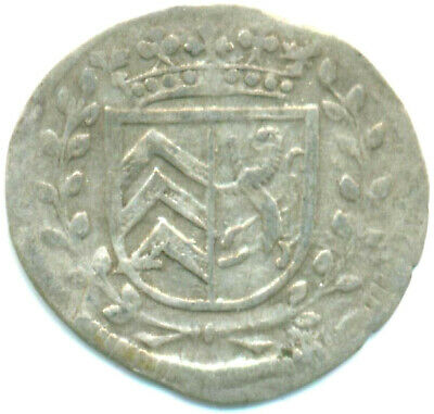 1 Kreuzer 1681 Sm Münzen Radient Hanau-münzenberg