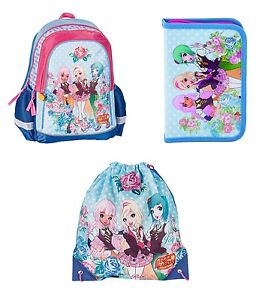 Image is loading REGAL-ACADEMY-School-Bag-Backpack-Pencil-Case-Gym- 63c8e442e19bc