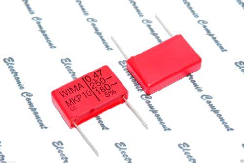 250V 5/% pitch:22.5mm Capacitor MKP1F034705D00J 0,47µF 5pcs-WIMA MKP10 0.47uF