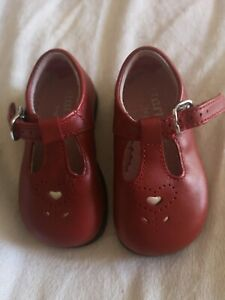 Girls Red Infant Start-Rite Mary Jane T
