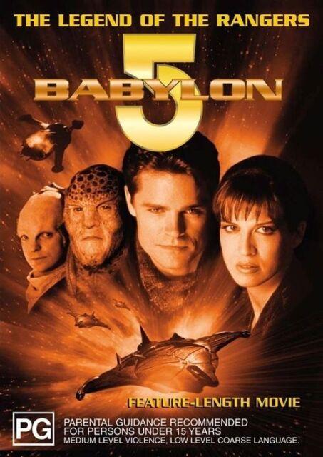 Babylon 5 - Legend Of The Rangers (DVD, 2005)-Region 4 -  NEW+SEALED