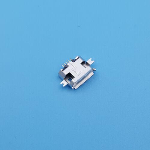 100Pcs Micro USB Type B 1.0 Female 5Pin SMT PCB Socket Solder Connector