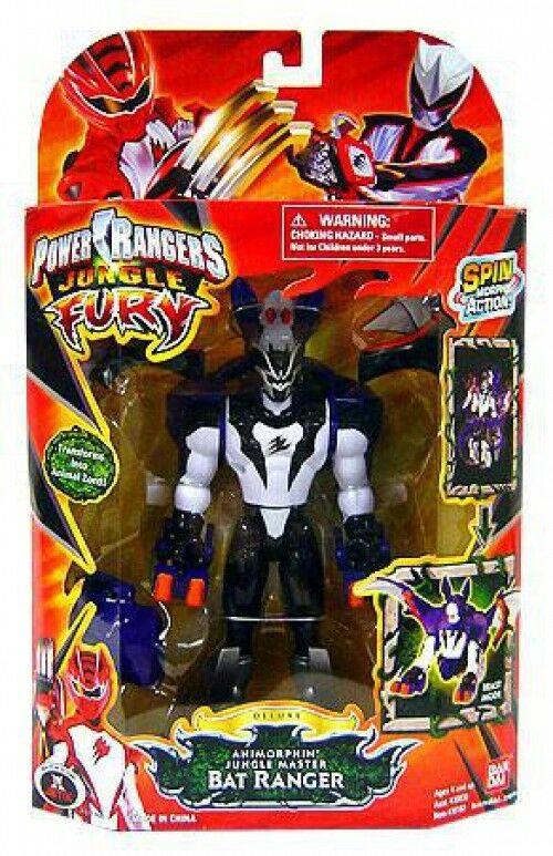 Jungle Fury Deluxe animorphin Jungle Master bat RANGER  Action Figure  meilleure offre
