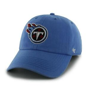 the latest a24c1 c2603 Image is loading Tennessee-Titans-47-Brand-Clean-Up-Hat-Adjustable-