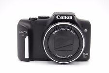 Canon PowerShot SX170 IS 16MP 3''Screen 16x Digital Camera BLACK