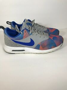 Nike-Air-Max-Tavas-Men-039-s-Size12-Running-Shoes-Hot-lava-742781-014-Athletic-Shoes
