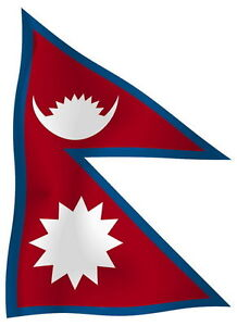Sticker-decal-vinyl-decals-national-flag-car-ensign-bumper-nepal-luggage