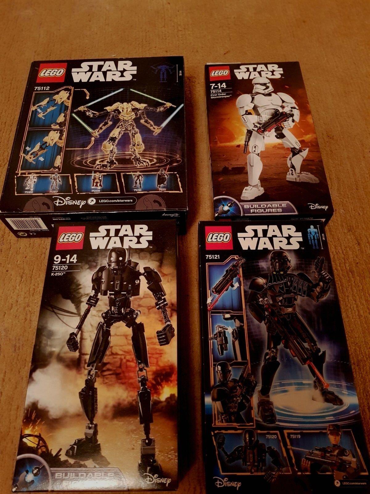 LEGO ® Star Wars ™ 4x 75112+75114+75120+75121 personaggi NUOVO & OVP