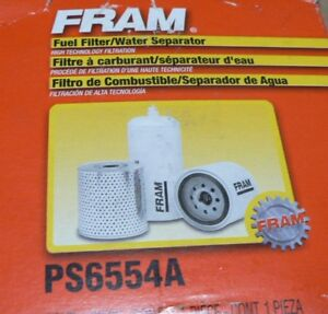 1988 1994 Ford E250 E350 F250 F350 7 3l Diesel Fuel Filter Fram Ps6554a Ebay