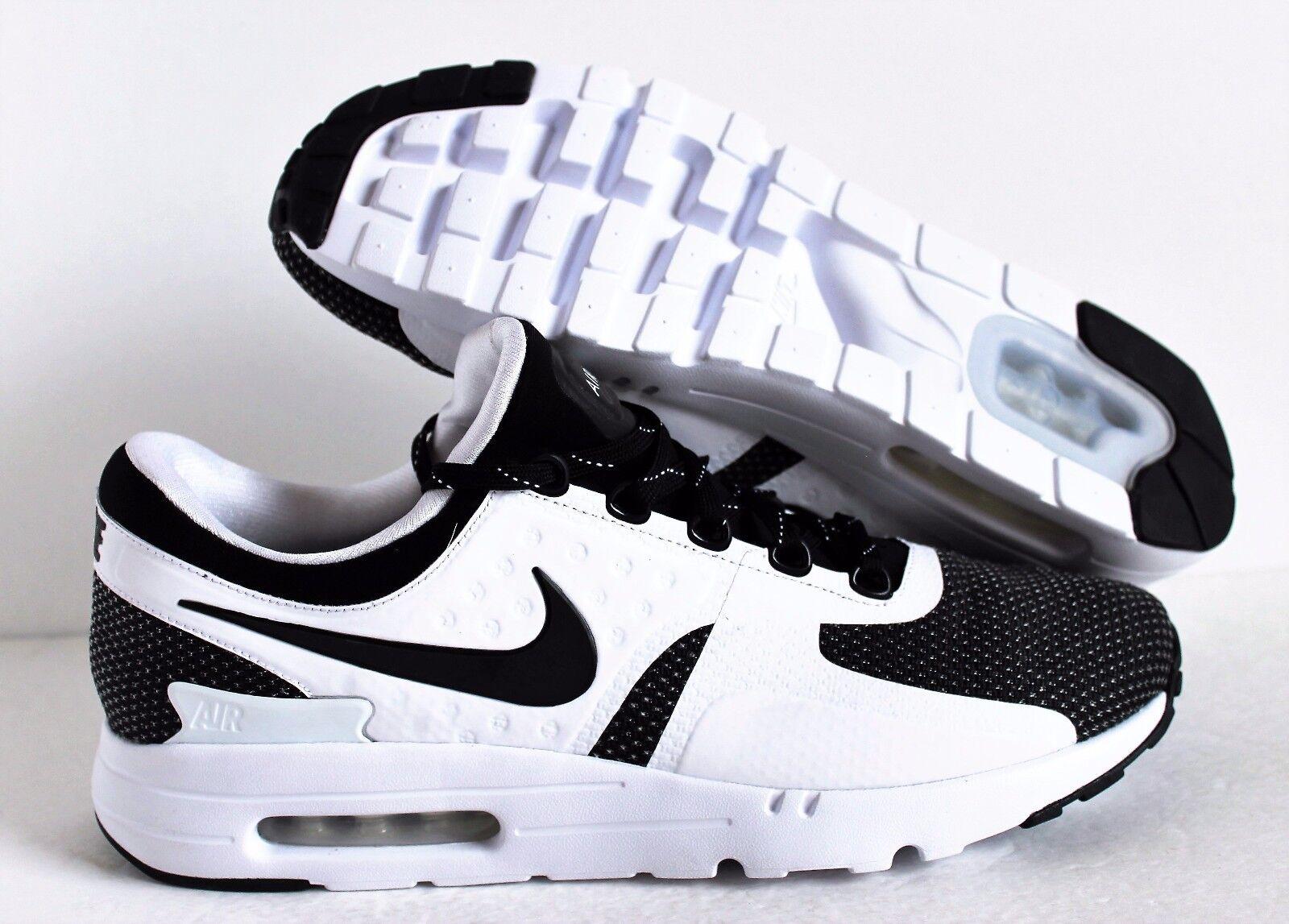 Nike Air Max Zero 13 ID Black-White  SZ 13 Zero [853860-901] ce2626