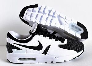 baf19dee2302b Image is loading Nike-Air-Max-Zero-ID-Black-White-SZ-