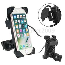 "Universal Motorcycle Bar Bike ATV 3.5-7"" Cell Phone GPS Mount Holder For iPhone7"