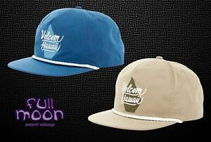 e9f05fa7f39 Image is loading New-Volcom-Hawaii-Stone-Sweeper-Mens-Classic-Snapback-