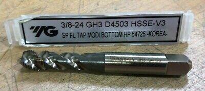 5//8-11 H3 4 Spiral Flutes Mod//Bottoming Tap HSSE-V3 Steam Oxide YG1