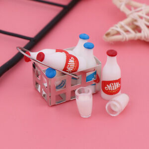 9x-set-1-12-Dollhouse-Miniature-Milk-Basket-Dolls-House-Kitchen-Accessories-YK