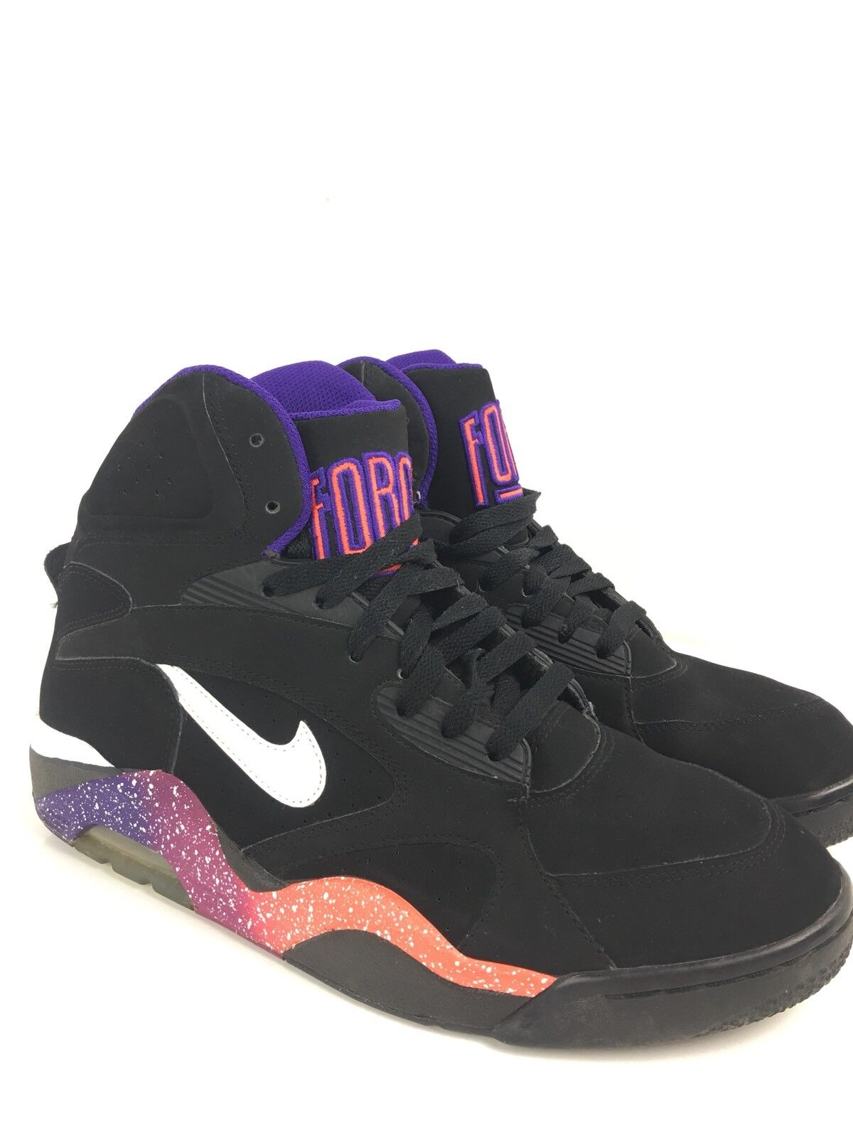 Nike Air Force 180 Mid Phoenix Suns Size 10.5. 537330-017 Jordan Barkley Sneaker