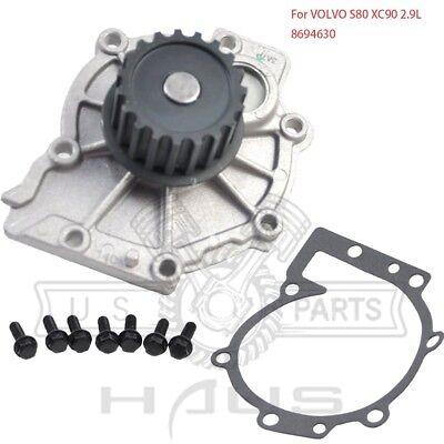 GASKET 2003 2004 2005 8694630 SET 2 VOLVO S80 XC90 2.9 2.9L ENGINE WATER PUMP