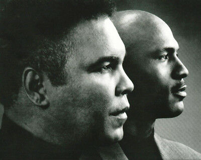b9b85bdb38edc Box sports legends Muhammad Ali and Michael Jordan Photo Picture Print |  eBay