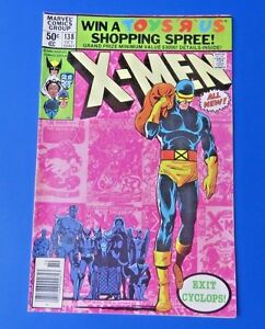 UNCANNY-X-MEN-138-1980-MARVEL-COMIC-CYCLOPS-QUITS-VF