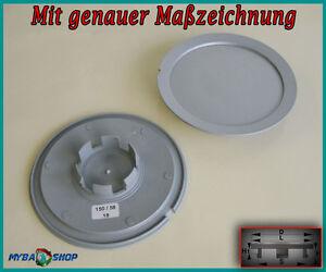 2x-Hub-Cap-147mm-57mm-Tapacubos-Llanta-Cubierta-Audi-VW-Seat-Skoda-Nuevo