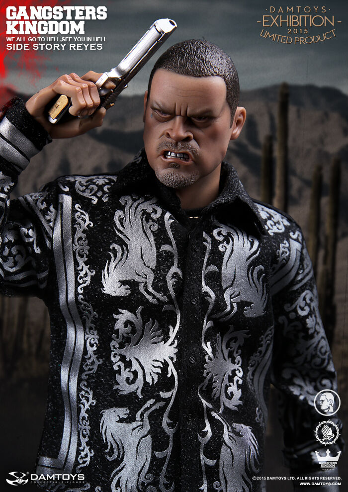 DAM Toys CICF 2015 EXPO Gangster REGNO Story-REYES Side Figura 1/6