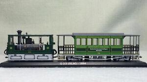 New-1-87-Scale-Swiss-Railway-Steam-Locomotive-1894-G-3-3-SLM-Train-Display-Model