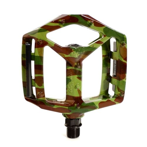 WELLGO MG-3 Pedal Fixed Pin Camouflage Fit Montague MTB XC Freeride BMX Bike