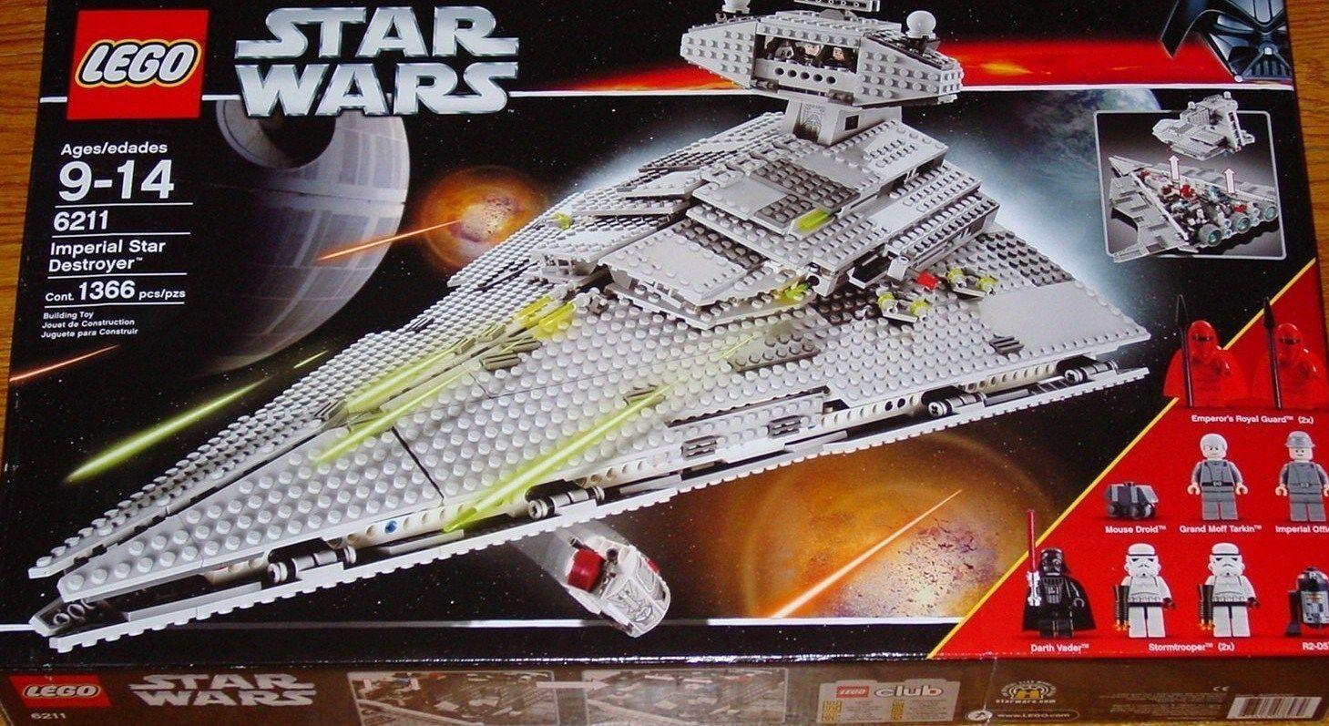 Lego Star Wars-Imperial Star Destroyer -6211- Neuf-New in Box-Year 2006-MIB-