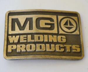Vtg Dynabuckle WPI Waukesha-Pearce Industries Solid Brass Belt Buckle *EXCELLENT